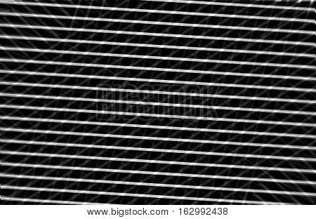 Optical illusion black and white lines diagonal