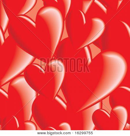 Nahtlose Valentinstag Hintergrund