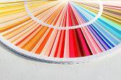 Sample Colors Catalog. Color Palette Guide. Sample Colors poster