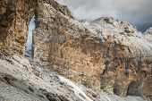 Roland Gap Cirque de Gavarnie in the Pyrenees poster