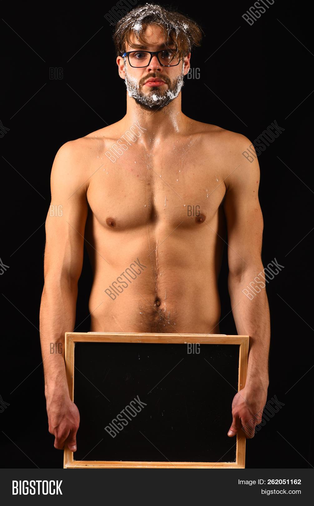 Erotic nude biker babe