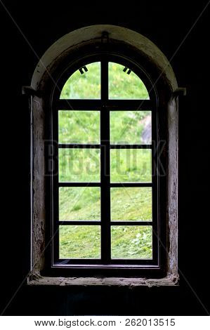 View Outside - Through A Old Window