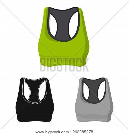 Isolated Object Of Woman And Clothing Logo. Set Of Woman And Wear Stock Vector Illustration.