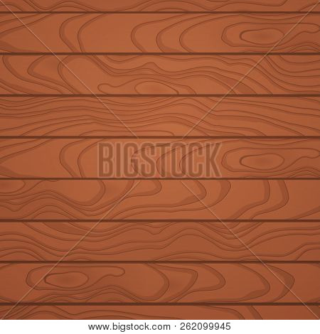 Backdrop Of Wood Planks With Wooden Boards.