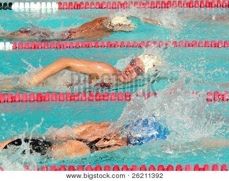 Girls Swimming League Finals