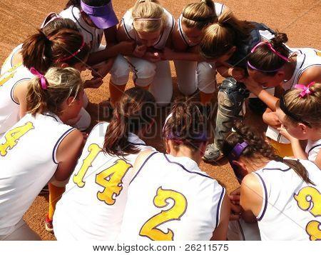 Girls Softball Team Meeting