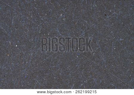 Black Paper Texture Or Paper Background. Seamless Paper For Design. Close-up Paper Texture For Backg