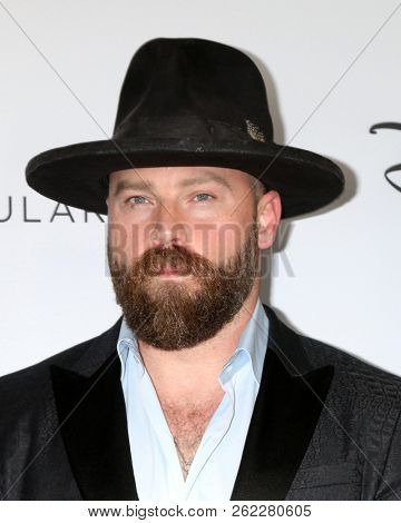LOS ANGELES - OCT 6:  Zac Brown at the Mickey's 90th Spectacular Taping at the Shrine Auditorium on October 6, 2018 in Los Angeles, CA