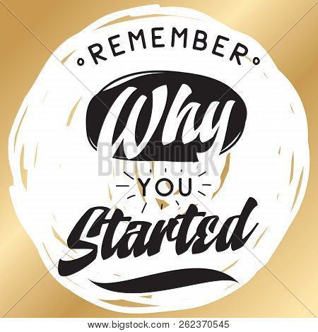 Inspirational Quote Vector Photo Free Trial Bigstock
