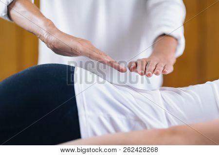Reiki Lower Back Treatment