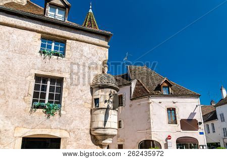 French Architecture In Beaune, Burgundy