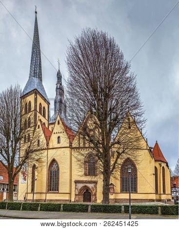 Lutheran Parish Church of St. Nicholas, Lemgo, Germany poster