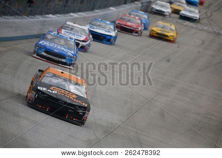October 07, 2018 - Dover, Delaware, USA: Jamie McMurray (1) battles for position during the Gander Outdoors 400 at Dover International Speedway in Dover, Delaware.