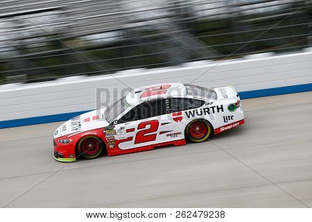 October 05, 2018 - Dover, Delaware, USA: Brad Keselowski (2)  takes to the track to practice for the Gander Outdoors 400 at Dover International Speedway in Dover, Delaware.