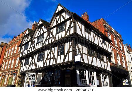 Ancient Half-timbered Building