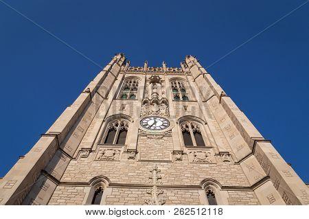 Memorial Union Tower At The University Of Missouri
