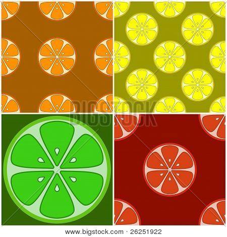 Backgrounds, citrus fruit
