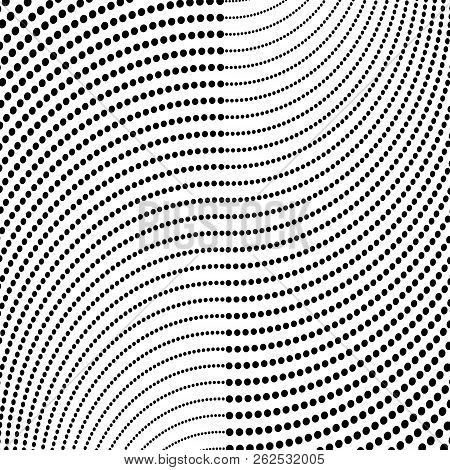 Abstract Halftone Pattern. Vector Halftone Dots Background For Design Banners, Posters, Business Pro