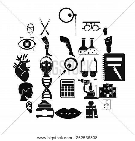 Assay Icons Set. Simple Set Of 25 Assay Vector Icons For Web Isolated On White Background