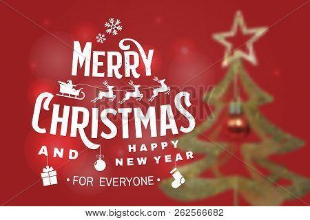 Merry Christmas 2019.Merry Christmas 2019 Vector Photo Free Trial Bigstock