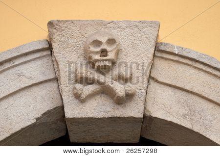 Detail Of Ossuary Entrance