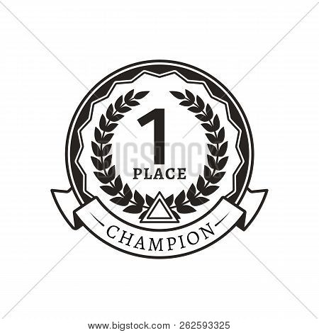 1st Place Medal Vector & Photo (Free Trial) | Bigstock