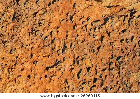 natural vulcanic stone grungy texture poster