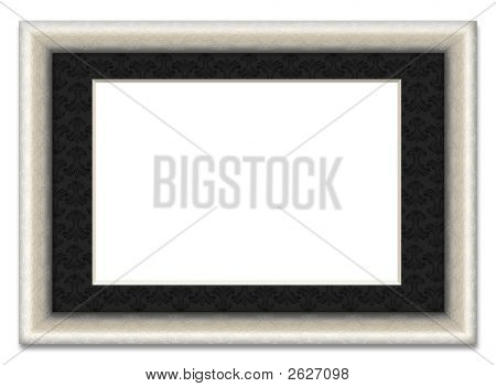 Blank Picture Frame With Photo Mount