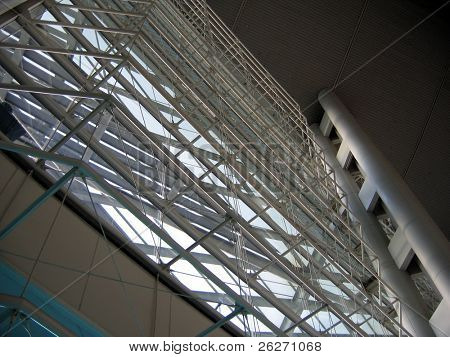 interior structure of Hong Kong Convention and Exhibition Centre
