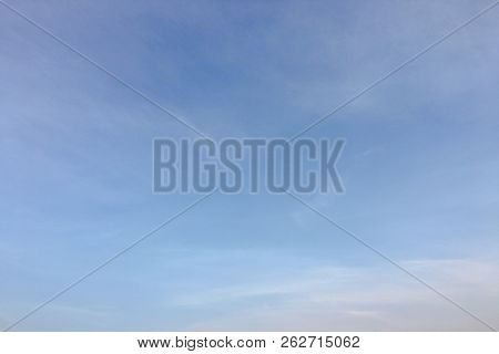 Beauty Cloud Against A Blue Sky Background. Clouds Sky. Blue Sky With Cloudy Weather, Nature Cloud.