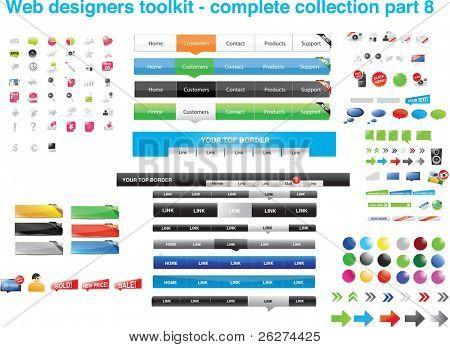 Web diseñadores toolkit - colección completa parte 8