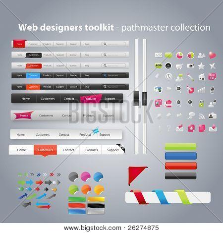 Web diseñadores toolkit - colección pathmaster
