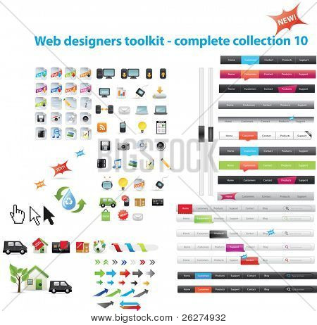 Web diseñadores toolkit - colección completa 10