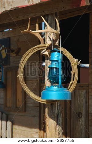 Blue Lantern And Lasso