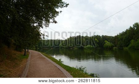 Beauty In Nature Canal Day Diminishing Perspective Direction Green Color Growth Non-urban Scene Outd