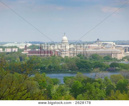 Capitol Across Potomac