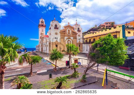 Candelaria, Tenerife, Canary Islands, Spain: Overview Of The Basilica Of Our Lady Of Candelaria