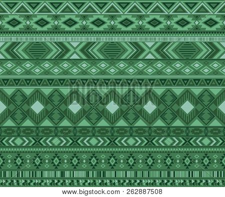 Navajo American Indian Pattern Tribal Ethnic Motifs Geometric Vector Background. Abstract Native Ame