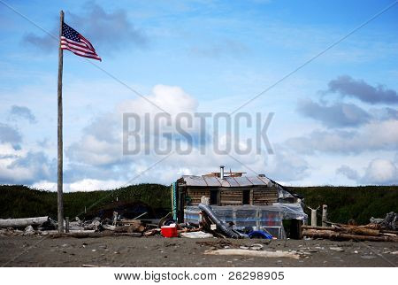 Patriotic Gold Mining Shack
