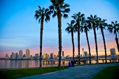 San Diego from Ferry Landing in Coronado poster