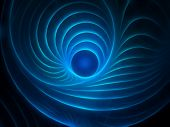 mystic fractal background poster