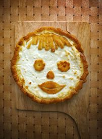 Pie Smile A Russian Cheese Cake With Cottage Cheese