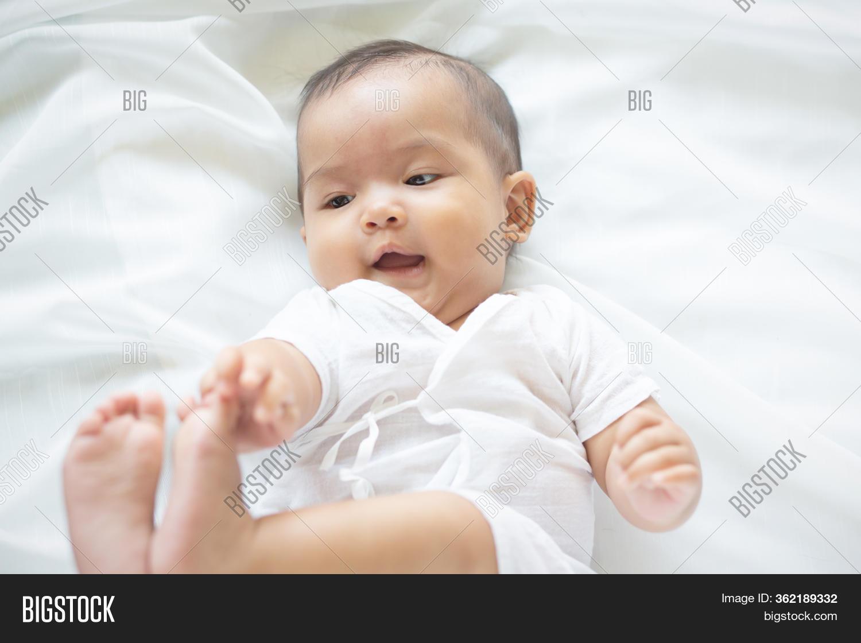 Cute Newborn Baby Girl Image Photo Free Trial Bigstock