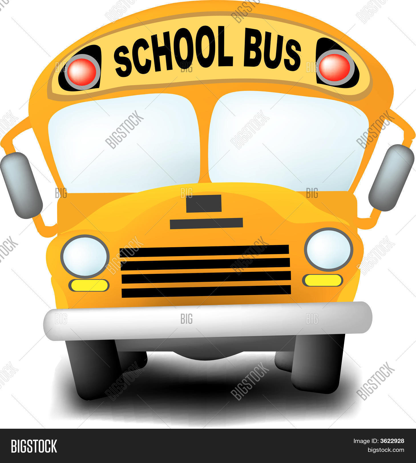 school bus vector photo free trial bigstock rh bigstockphoto com School Bus Illustration Cartoon School Bus Clip Art