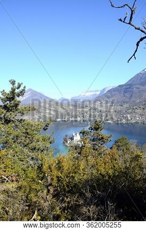 Overview Of Annecy Lake, Savoy, France