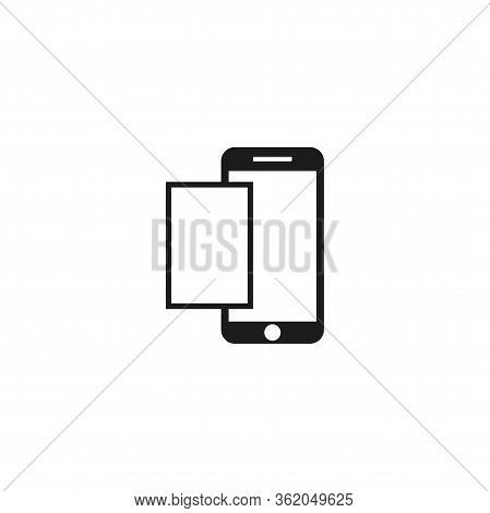 Screenshot Icon Vector . Lorem Ipsum Illustration Design