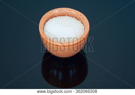 Chlorinated Powder Hot Tub And Spa Chemicals.  This White Powder Is Chlorinating Concentrate Used In