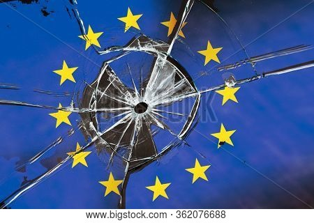 Collapse of the European Union. Disintegration of European countries. Concept