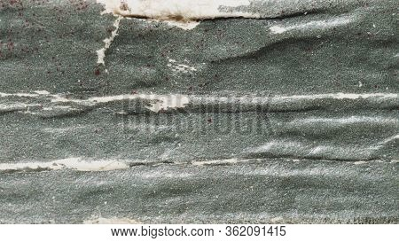 Rough Gray Paper Texture. Old Book Spine Close Up. Book Binding Background