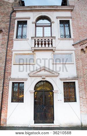 Facade Of Classical Church